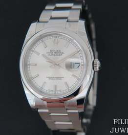 Rolex  Datejust Silver Dial NEW 116200