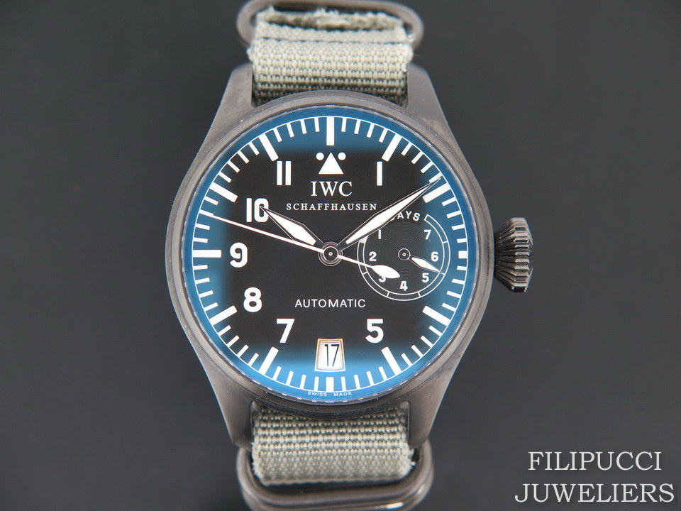IWC IWC Big Pilot DLC Coated IW5002