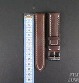 Breitling Breitling Brown Leather Strap 22-20MM with buckle NEW