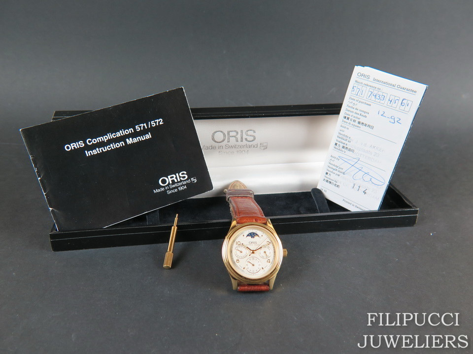 Oris Oris Complication Moonphase Silver Dial