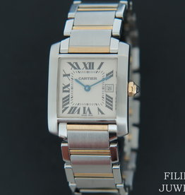 Cartier Tank Francaise MM Gold/Steel