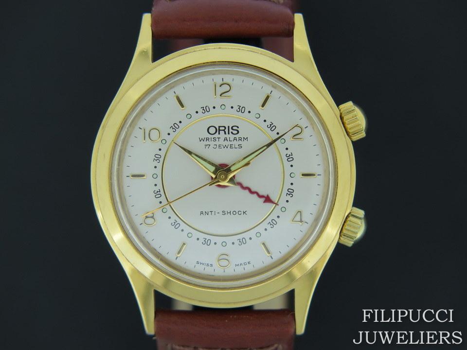 Oris Oris Wrist Alarm Silver Dial