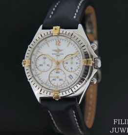 Breitling Chrono Sextant Gold/Steel B55046