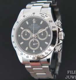Rolex  Daytona Black Dial 116520 M-Serial