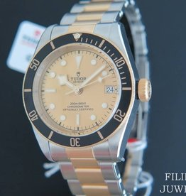 Tudor Heritage Black Bay 41 Gold / Steel NEW 79733N