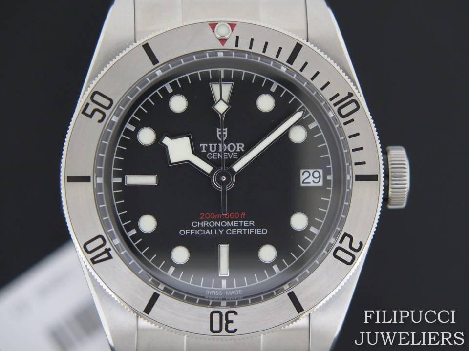 Tudor Tudor Heritage Black Bay Steel NEW 79730