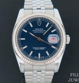 Rolex  Rolex Datejust Blue Dial 116234