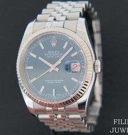 Rolex  Datejust Blue Dial 116234