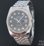 Rolex  Rolex Datejust Black Diamond Dial 116234
