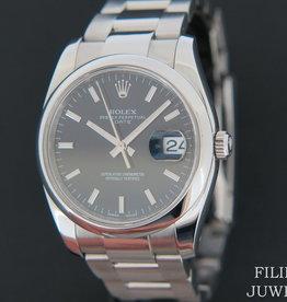 Rolex  Date Black Dial 115200