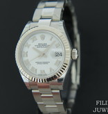 Rolex  Rolex Datejust Lady 28mm White Roman Dial NEW 279174