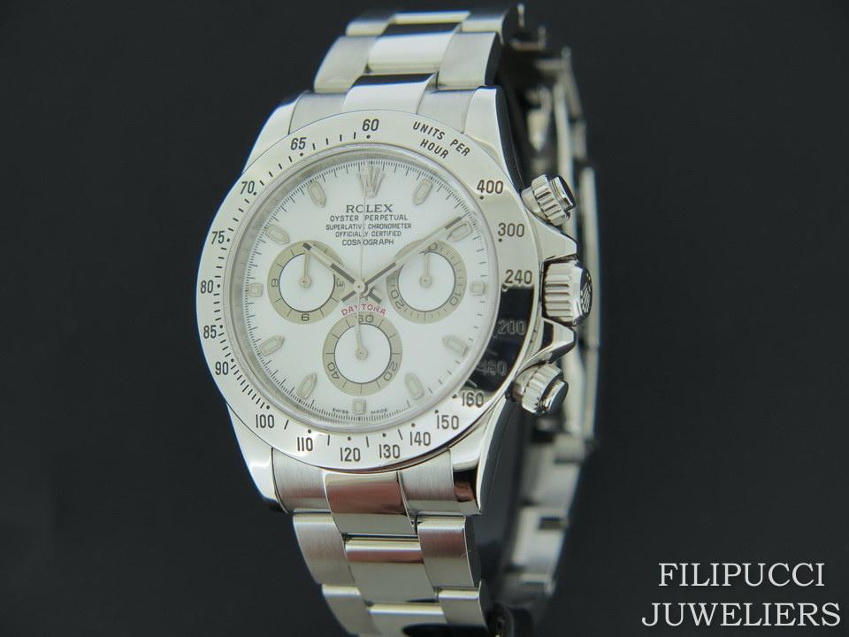 Rolex  Rolex Daytona White Dial 116520  G-Serial