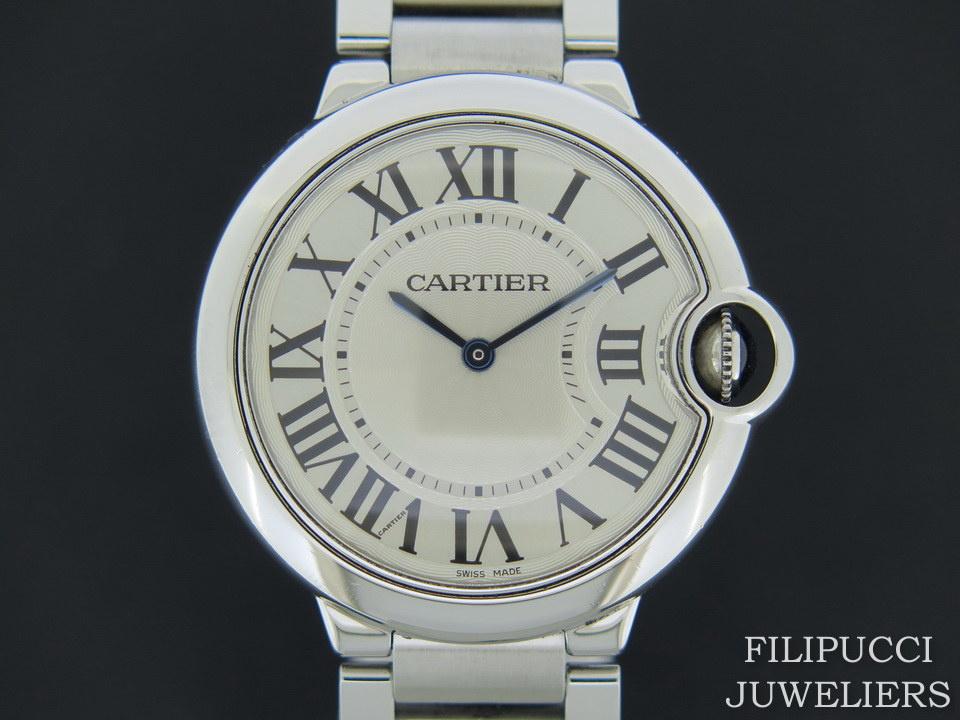 Cartier Cartier Ballon Bleu Steel 36MM W69011Z4