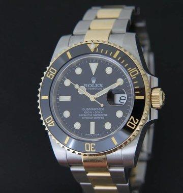Rolex  Submariner Date  Gold/Steel 116613LN NEW