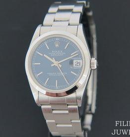 Rolex  Datejust Midsize Blue Dial 31mm