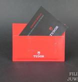 Tudor Tudor Card holder + Warranty Booklet