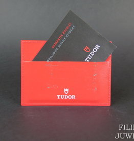 Tudor Card holder + Warranty Booklet
