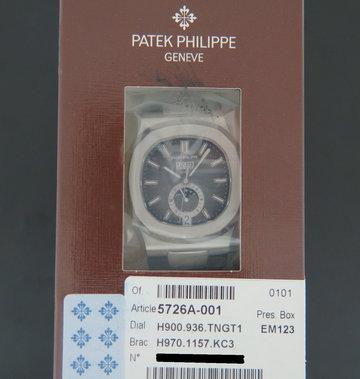 Patek Philippe Nautilus Annual Calendar