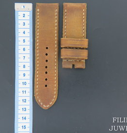 Panerai Vintage-style Calfskin Leather Strap 26 MM