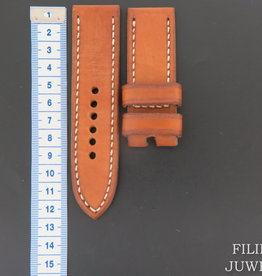 Panerai Vintage-style Calfskin Leather Strap 27 MM