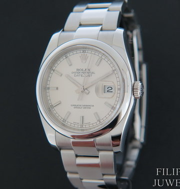 Rolex  Datejust 116200 Silver