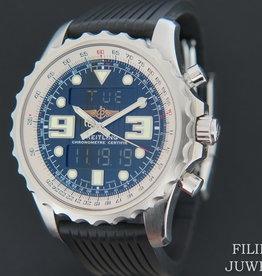 Breitling Chronospace Black Dial A78365
