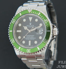 Rolex  Submariner Date LV ''FLAT FOUR'' F-0 serial