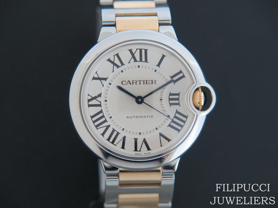 Cartier Cartier Ballon Bleu Gold/Steel 36MM