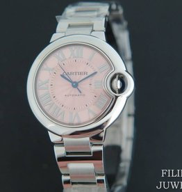 Cartier Ballon Bleu 33mm  NEW  W6920100