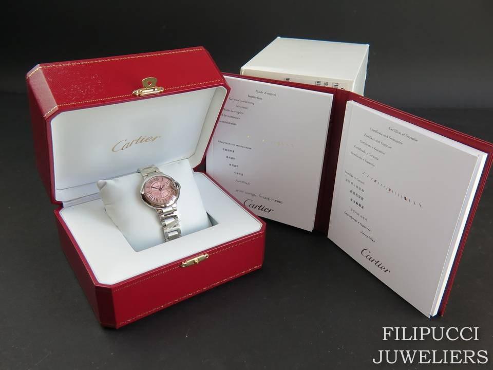 Cartier Cartier Ballon Bleu 33mm NEW W6920100