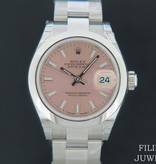 Rolex  Rolex Datejust Lady 28 Pink Dial NEW 279160