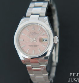 Rolex  Datejust Lady 28 Pink Dial NEW 279160