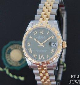 Rolex  Datejust VI Diamonds Gold/Steel 178343 NEW