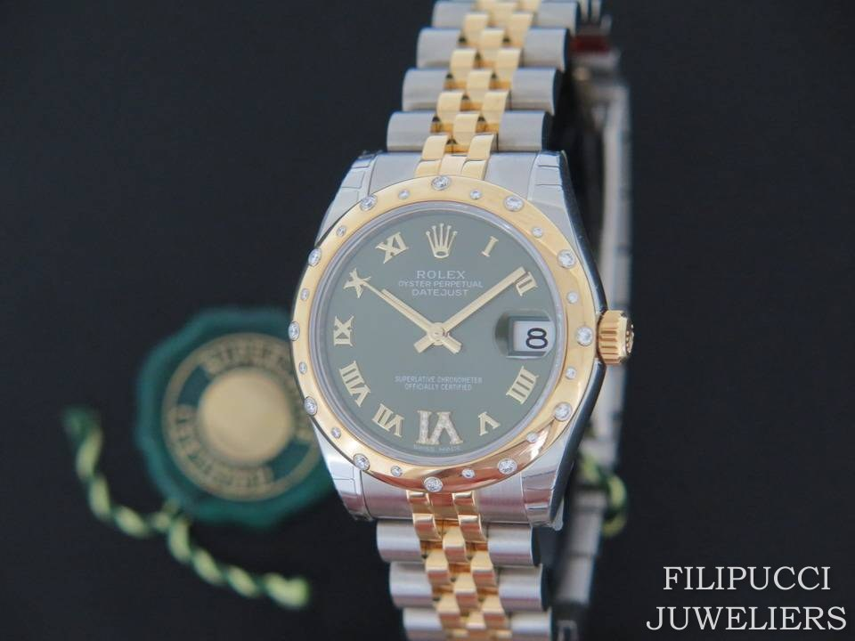 Rolex  Rolex Datejust VI Diamonds Gold/Steel 178343 NEW