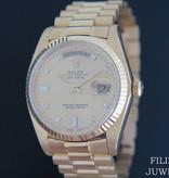 Rolex  Rolex Day-Date Yellow Gold Diamond Dial 18038