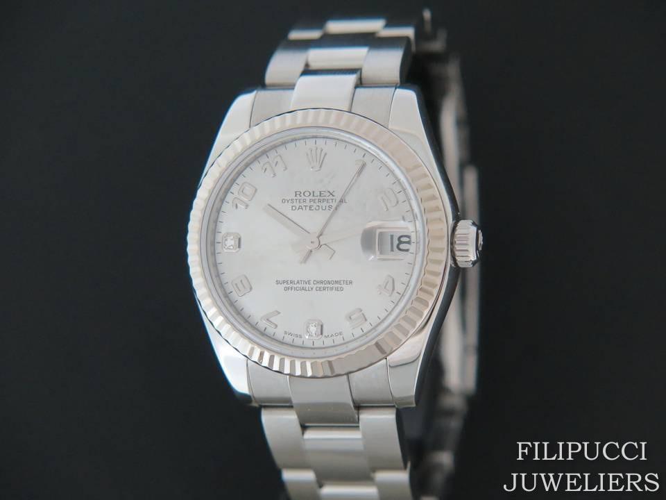 Rolex  Rolex Datejust MOP Diamonds 178274