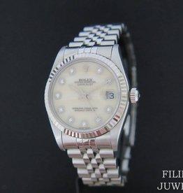 Rolex  Datejust MOP with Diamonds 68274