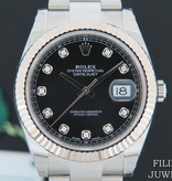 Rolex  Rolex Datejust 41 Black Diamond Dial 126334 NEW