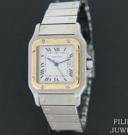 Cartier Santos Galbee Automatic Gold/Steel
