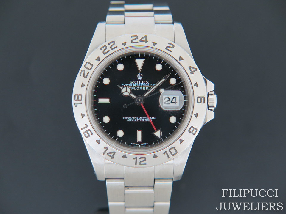 Rolex  Rolex  Explorer II Black Dial 16570