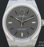 Rolex  Rolex Oyster Perpetual  Dark Rhodium Dial 114300