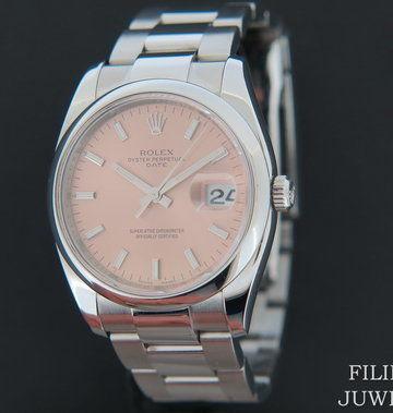 Rolex  Date Pink Dial 115200