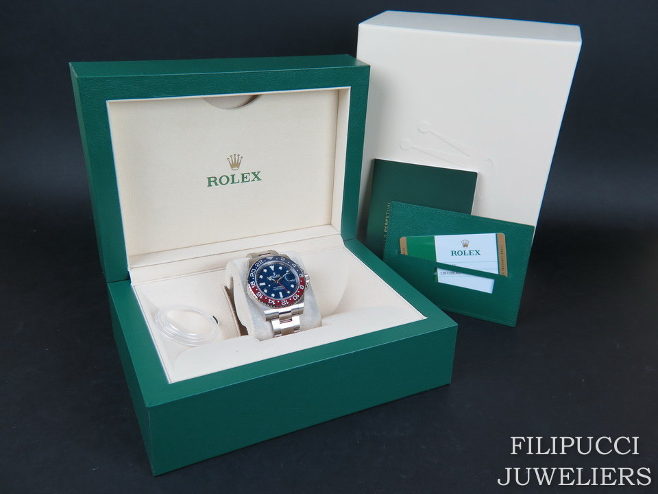 Rolex  Rolex GMT Master II BLRO White Gold Blue Dial 126719BLRO NEW