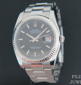 Rolex  Datejust  Black Dial 116234