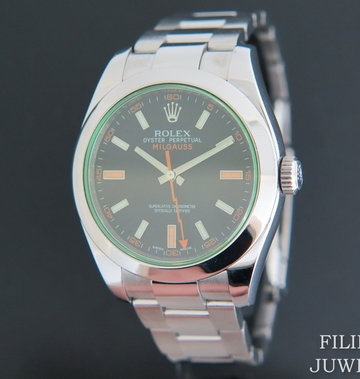 Rolex  Milgauss GV Black Dial 116400GV