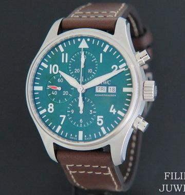 IWC Pilot's Watch Chronograph  Edition Racing Green NEW