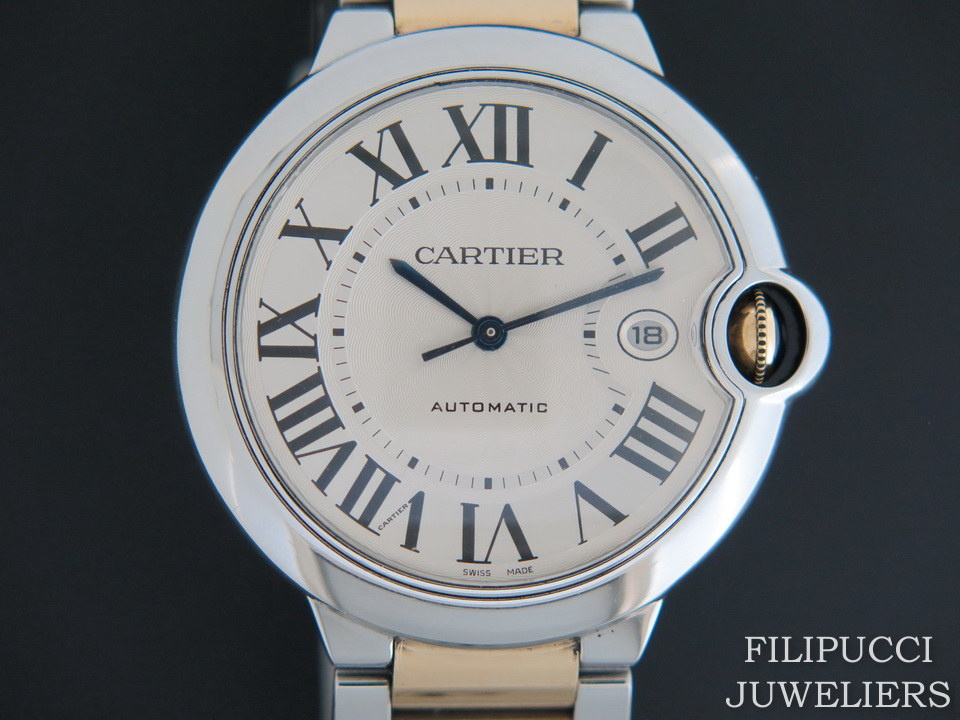 Cartier Cartier Ballon Bleu Gold/Steel 42MM  W69009Z3 Automatic