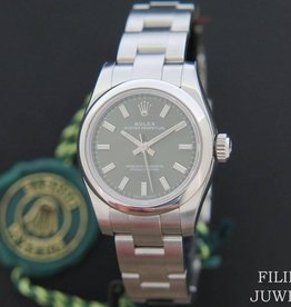 Rolex  Oyster Perpetual NEW Green Dial  176200