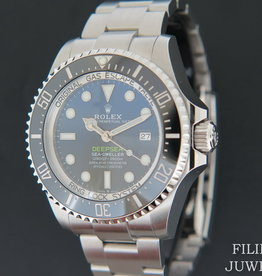 Rolex  Sea-Dweller Deepsea D-Blue James Cameron NEW MODEL 126660 NEW