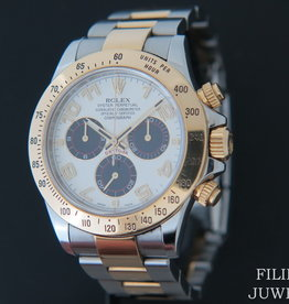 Rolex  Daytona Gold/Steel 116523 Panda Racing Dial